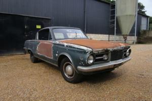 Plymouth Barracuda 1965 True V8 Classic 60s Mopar Cuda Project