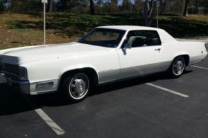 1968 Cadillac Eldorado Photo