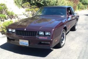 1987 Chevrolet Monte Carlo Super Sport