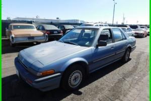 1987 Honda Accord LXi