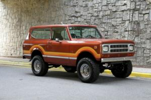 1980 International Harvester Scout II V8 auto PS PB restored