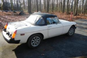 1979 MG MGB Photo