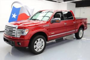 2014 Ford F-150 PLATINUM CREW ECOBOOST 4X4 NAV 20'S Photo
