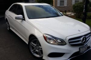 2014 Mercedes-Benz E-Class Sport Sedan 4MATIC
