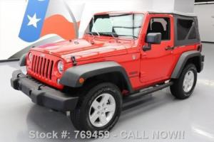 2015 Jeep Wrangler SPORT CONVERTIBLE 4X4 6-SPEED