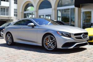 2015 Mercedes-Benz S-Class 2dr Coupe S63 AMG 4MATIC