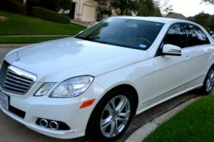 2011 Mercedes-Benz E-Class Photo