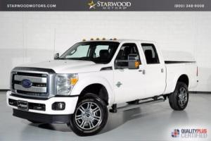 2015 Ford F-250 Platinum 4WD 4X4 Photo