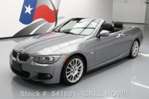 2011 BMW 3-Series 328I CONVERTIBLE M SPORT HTD LEATHER