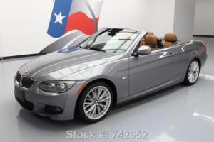 2011 BMW 3-Series 335I CONVERTIBLE M-SPORT NAV HTD SEATS