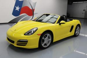 2013 Porsche Boxster CONVERTIBLE 6-SPEED LEATHER