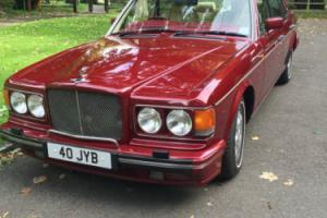 1995 BENTLEY BROOKLANDS AUTO RED
