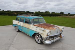 Rare 1956 Chevrolet 210 Surf Wagon with LS Swap V8