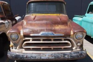 Rare Genuine RHD 1957 Chevy Pickup Patina Project Truck in QLD Photo