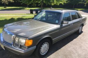 1991 Mercedes-Benz 300-Series 350SDL 6 CYL TURBO DIESEL SEDAN