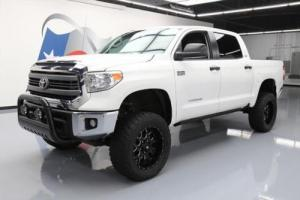 2014 Toyota Tundra SR5 CREWMAX 4X4 LIFTED REAR CAM 20'S