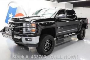2014 Chevrolet Silverado 1500 SILVERADO LTZ CREW 4X4 BLACK WIDOW LIFT