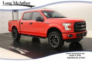 2016 Ford F-150 LIFTED LMX4 XL 4X4 SUPERCREW 0%/72 MSRP $49750