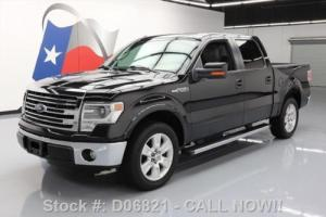 2013 Ford F-150 LARIAT CREW SUNROOF NAV REAR CAM