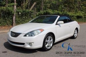 2006 Toyota Solara SE V6-CONVERTIBLE,1 OWNER,CLEAN CARFAX,
