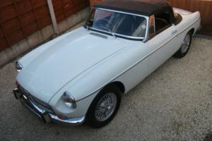 MGB Roadster, 1972, Wire Wheels, Chrome Bumpers, Overdrive, Tax Exempt, GHN5 Car