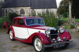 POST VINTAGE 1937 RILEY 12/4 KESTREL SPRITE FULL SUPERB OWNER RESTORATION