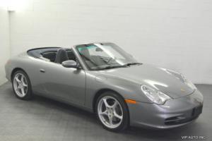 2002 Porsche 911 2dr Carrera Cabriolet 6-Speed Manual