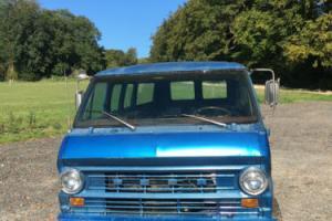 1972 FORD ECONOLINE E300 CLUB WAGON LWB 351 V8 AUTO RUST FREE CAL IMPORT
