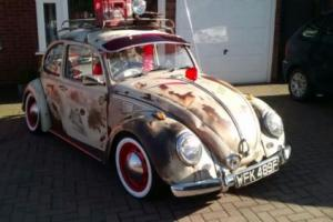 Classic VW beetle 1968 rat look fully restored