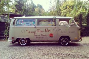 VW Early Bay Deluxe Microbus Camper