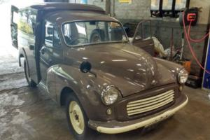 1963 MORRIS 6 CWT VAN FOR SALE RESTORATION
