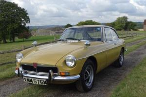 Lovely original MGB GT,Heritage Certificate,39000 miles.