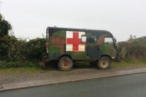 Renault saviem 4x4 ambulance lhd camper, coffee bar project