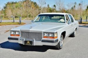 1987 Cadillac Brougham Simply Elegant Only 1 Owner Low Mileage Must See Photo