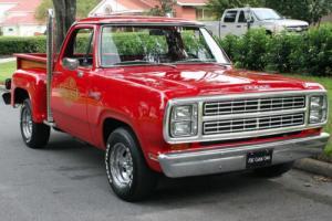 1979 Dodge D150 LIL' RED EXPRESS  - SURVIVOR - 30K MILES