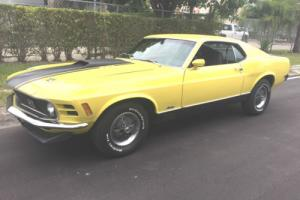 1970 Ford Mustang MACH 1 Photo