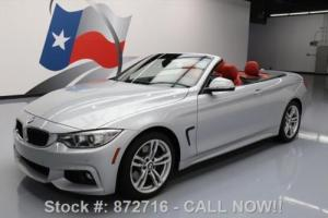 2014 BMW 4-Series 428I CONVERTIBLE M-SPORT NAV HTD SEATS
