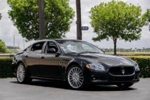 2012 Maserati Quattroporte 4dr Sedan S