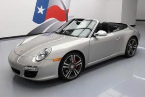 2012 Porsche 911 CARRERA S CABRIOLET SPORT CHRONO