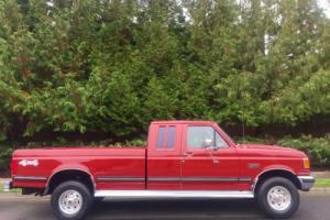 1991 Ford F-250 SUPER CLEAN ALL ORIGINAL LOW MILE 4WD 3/4 TON TRUCK