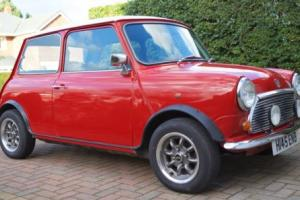 1990 ROVER MINI MAYFAIR RED/WHITE 34k Miles