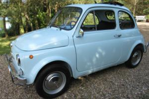Fiat 500 -Round Speedo -one of the best available