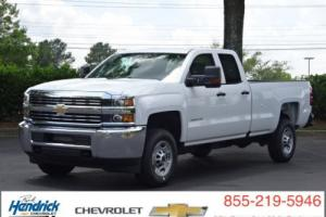 "2016 Chevrolet Silverado 2500 2WD Double Cab 158.1"" Work Truck"
