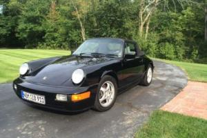 1990 Porsche 911 Carrera 4 Cabriolet AWD Photo