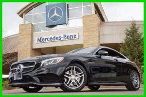 2016 Mercedes-Benz S-Class S550 4MATIC Coupe