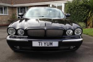 MINT!!! JAGUAR XJR V8 SUPERCHARGED MIDNIGHT PEARL METALLIC FULL JAGUAR SERVICING Photo
