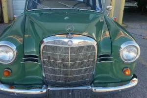 1960 Mercedes-Benz 190-Series 190D