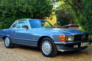 1988/F - Mercedes 300SL R107 Convertible. 97k, FSH, outstanding. 420SL 500SL Photo