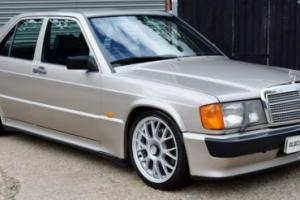 Stunning Mercedes 190e 2.3-16v Cosworth Manual- 98,000 Miles -YEARS MOT Photo