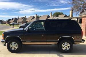 1995 Chevrolet Tahoe Luxury Limited